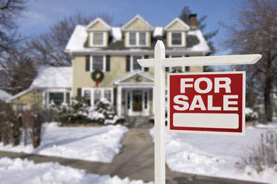 selling home in winter