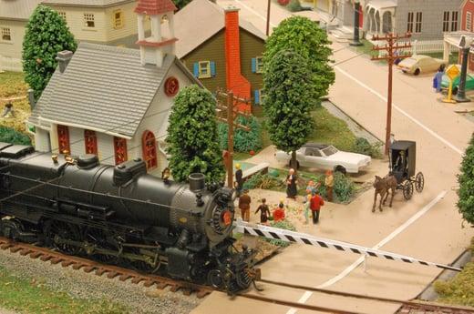 Model Railroad at Green Ridge | Railroad Crossing
