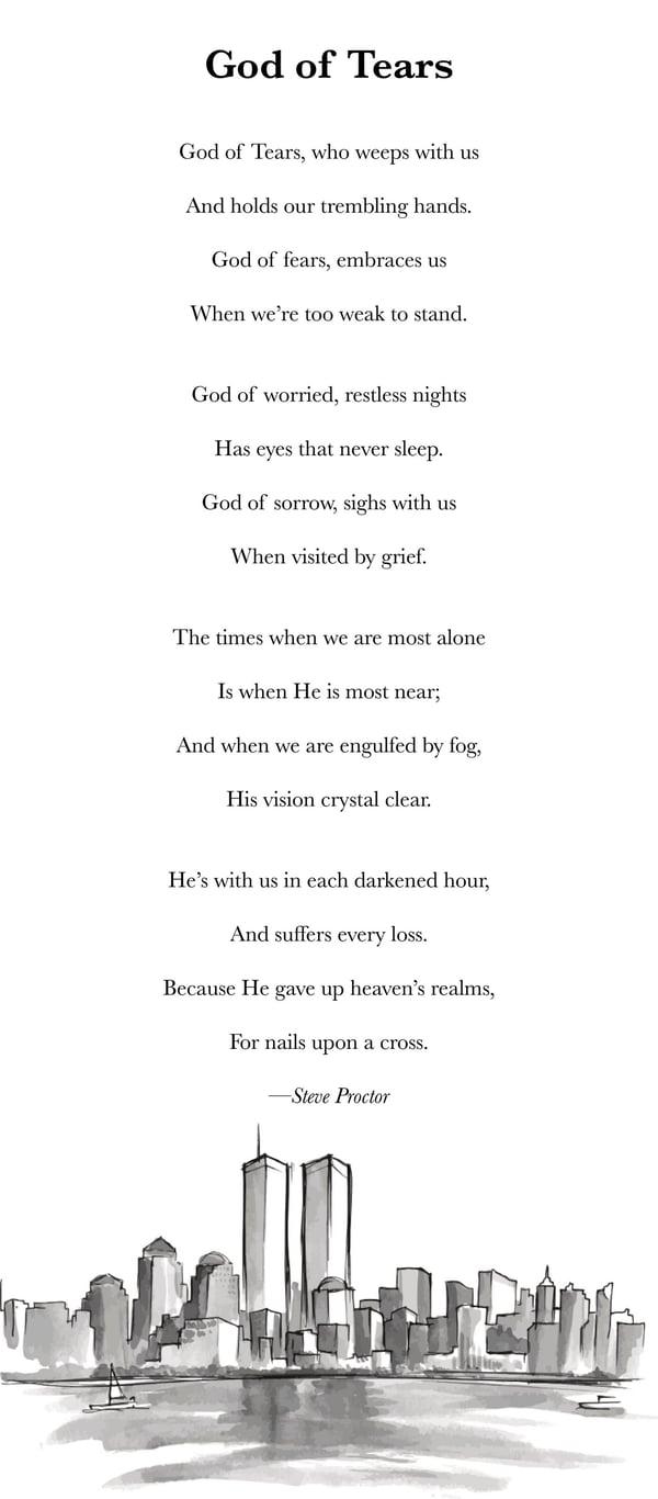 Gods Tears- Poem by Steve Proctor- 9/11 poem