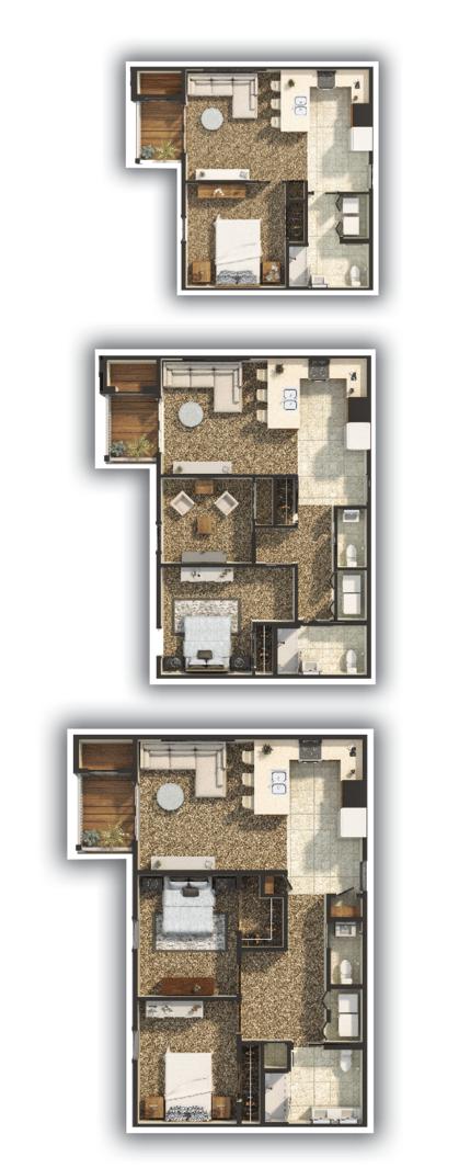 Charter House Floorplans