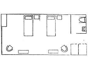 Semi Private Room Floor Plan