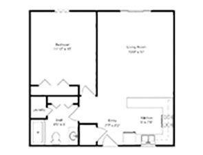 One Bedroom  | Green Ridge Village