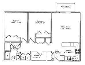 Two Bedroom |  | Green Ridge Village