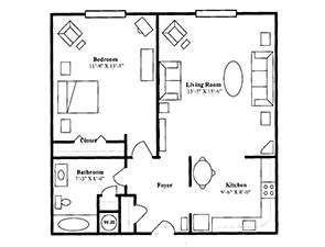 The Carnegie | St. Andrew's Village Floor Plans