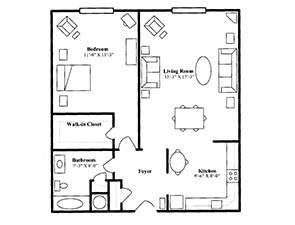 The Donegal   St. Andrew's Village Floor Plans