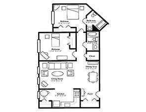 The Melville | St. Andrew's Village Floor Plans