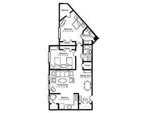 The Stuart | St. Andrew's Village Floor Plans