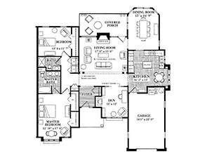 Chatham Villa Ware Floor Plan