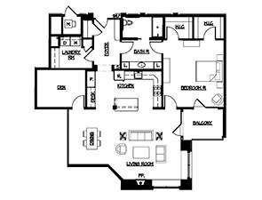 Manchester Apartment Floor Plan
