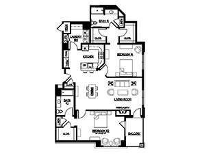 Warwick Apartments Ware Floor Plan