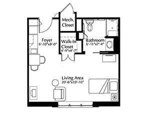 Canterbury Floor Plans