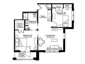 Essex Floor Plans