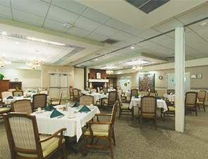 Virtual Tour of Dining Room in Westminster Valley in Allentown, PA