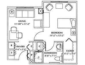 Bradley | Westminster Village at Dover Floor Plans & Photos