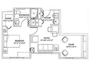 Chelsea | Westminster Village at Dover Floor Plans & Photos