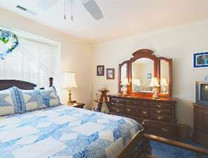 Cottage Master Bedroom | Westminster Village at Dover