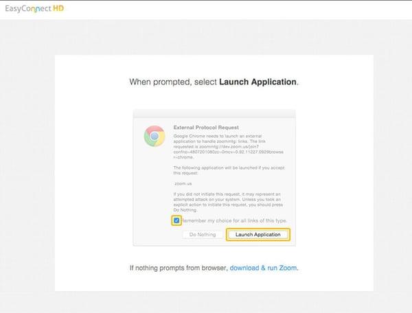 Launch-Application