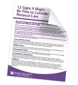 12 Signs It Might Be Time to Consider Personal Care