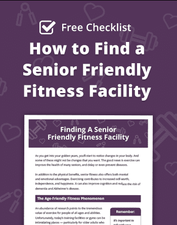 How to Find a Senior Friendly Fitness Center
