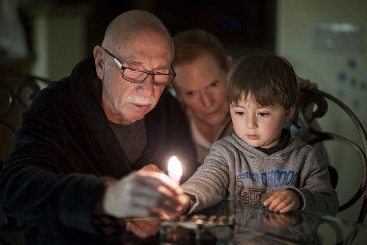 Grandparents-teaching-grandchild