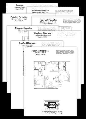 Inglenook Floor Plans