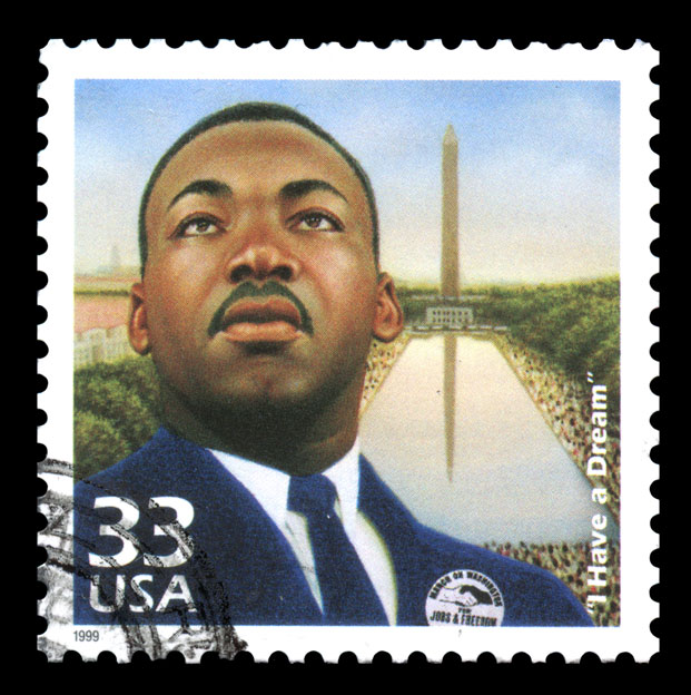 Martin-Luther-King-Jr-Stamp