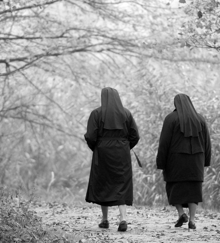 Nuns-Walking