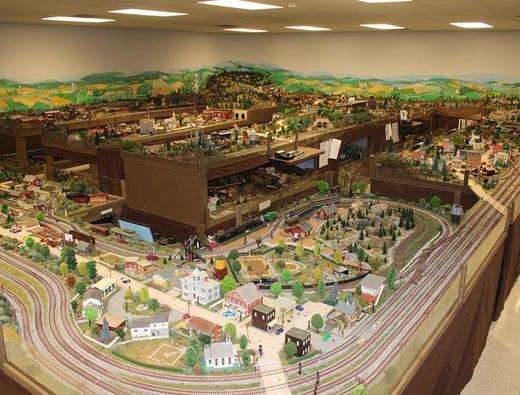 Model Railroad at Green Ridge | Model Railroad Setup