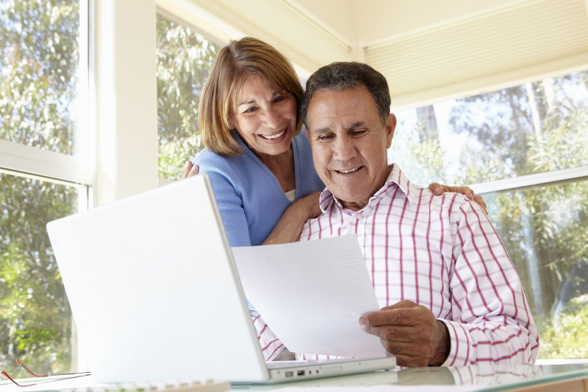 Social Security Benefits | Couple Reading Information