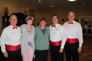 psl senior management serves red hat society