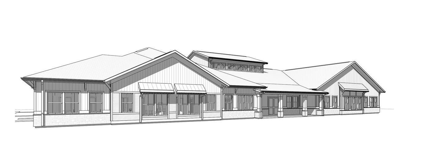 assisted living home artists rendering