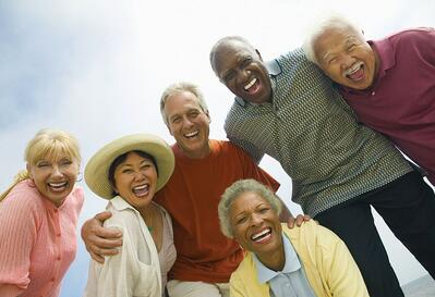 Evaluating Senior Living Communities | Diverse Group of Seniors