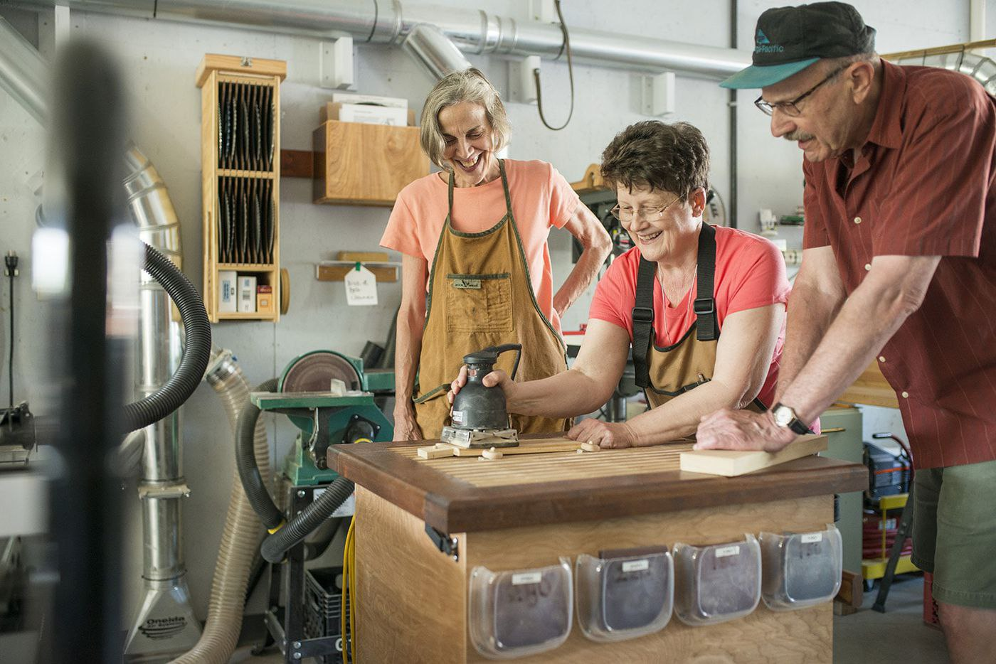 woodworking older americans month