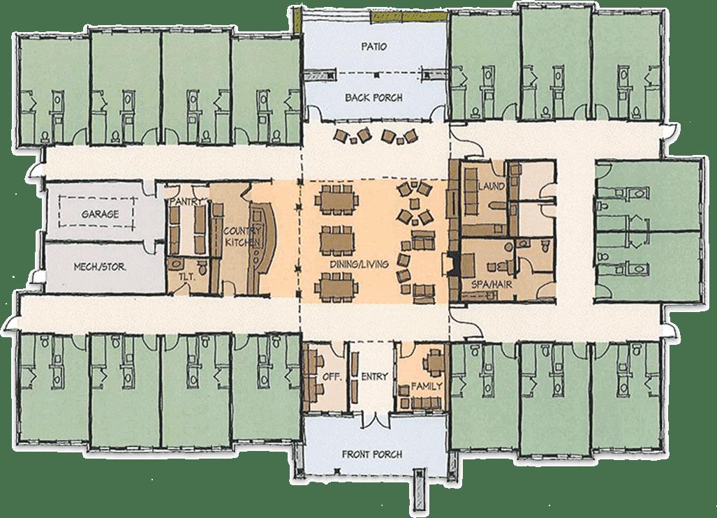 LP-Floorplan