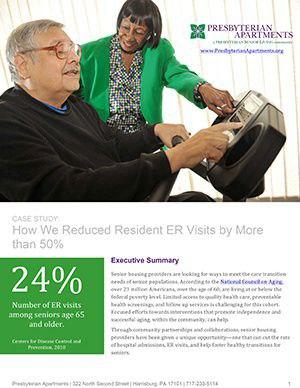 Reducing Presbyterian Apartments ER Visits