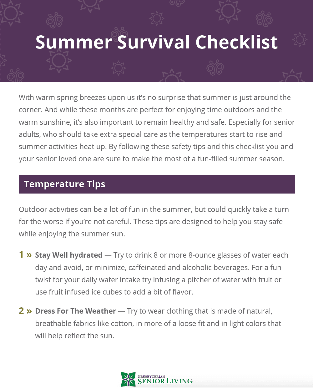 Senior-Summer-Survival-Checklist