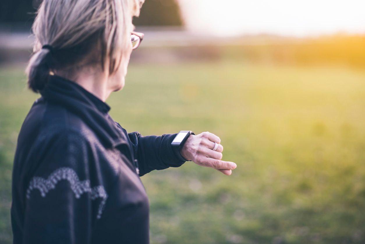 Active senior smartwatch