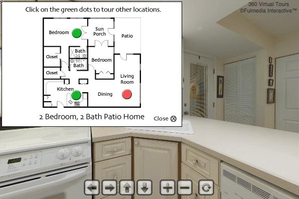 Patio Home - Kitchen | Glen Meadows Virtual Tour