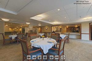 Health Center Dining Virtual Tour | Presbyterian Village at Hollidaysburg