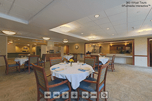 Health Center Dining Virtual Tour | Presbyterian Village at Hollidaysburg