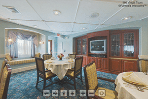 Lily Pad Dining Room Virtual Tour | Presbyterian Village at Hollidaysburg