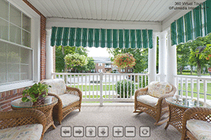 Wicker Porch Virtual Tour | Presbyterian Village at Hollidaysburg