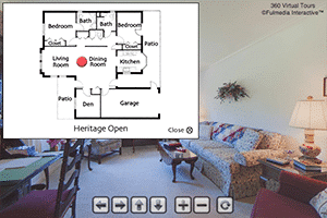 Heritage Open Floor Plan Virtual Tour