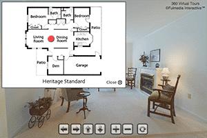 Heritage Standard Floor Plan Virtual Tour