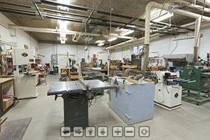 Wood Shop Virtual Tour