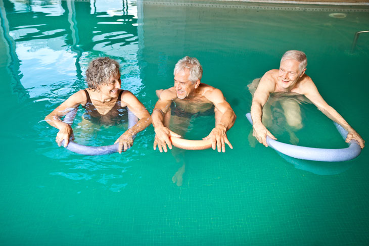 Active-Aging-Week-Pool-Activity