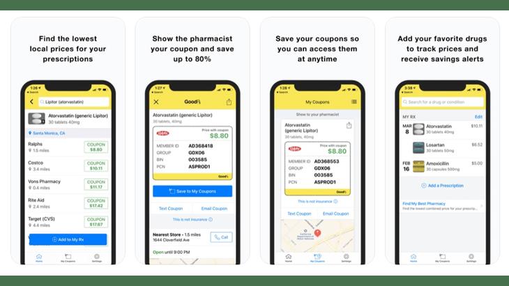best apps for seniors-goodrx