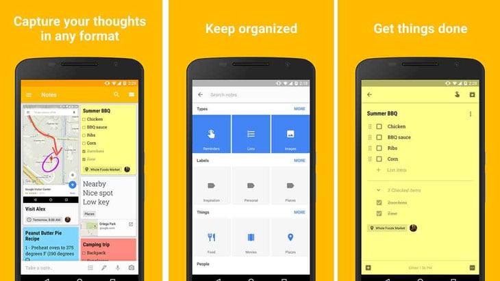 best-apps-for-seniors-google-keep