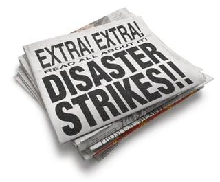 disaster newspaper reflections.jpg