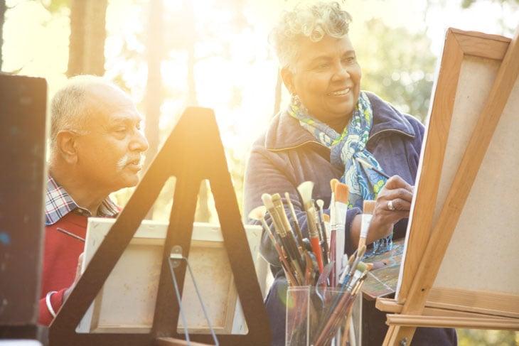 senior-couple-enjoying-art-lehigh-valley-pa